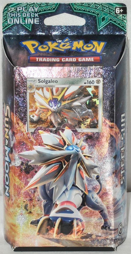 Pokémon Sun \ Moon Guardians Rising Steel Sun Theme Deck Trading - sample trading card
