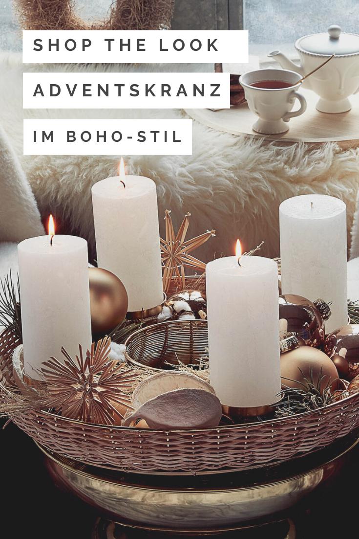Adventskranz für Deine winterliche Deko Zuhause   DEPOT ...