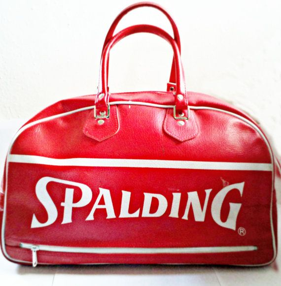 Vintage Spalding Gym Bag In 2019 Boxing Boots Bags