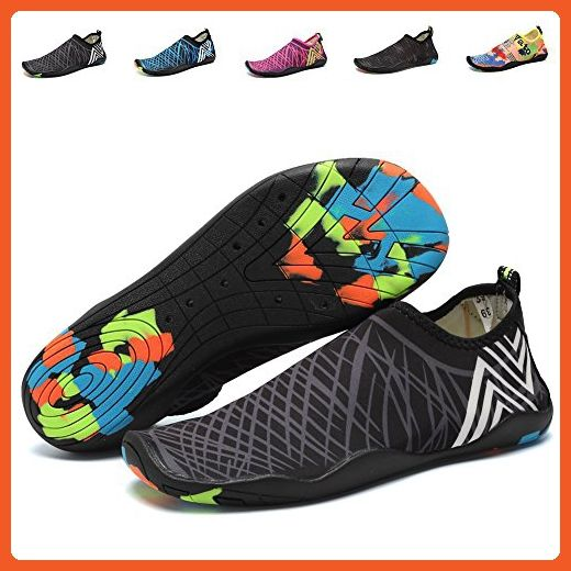 443ed5804e86 CIOR Men and Women s Barefoot Quick-Dry Water Sports Aqua Shoes with 14  Drainage Holes for Swim
