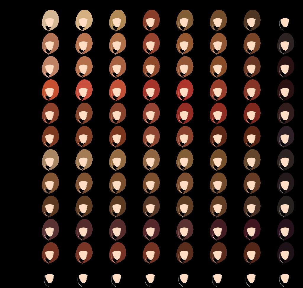 Henna Hair Dye Color Chart | Hair! | Pinterest | Hair dye color ...