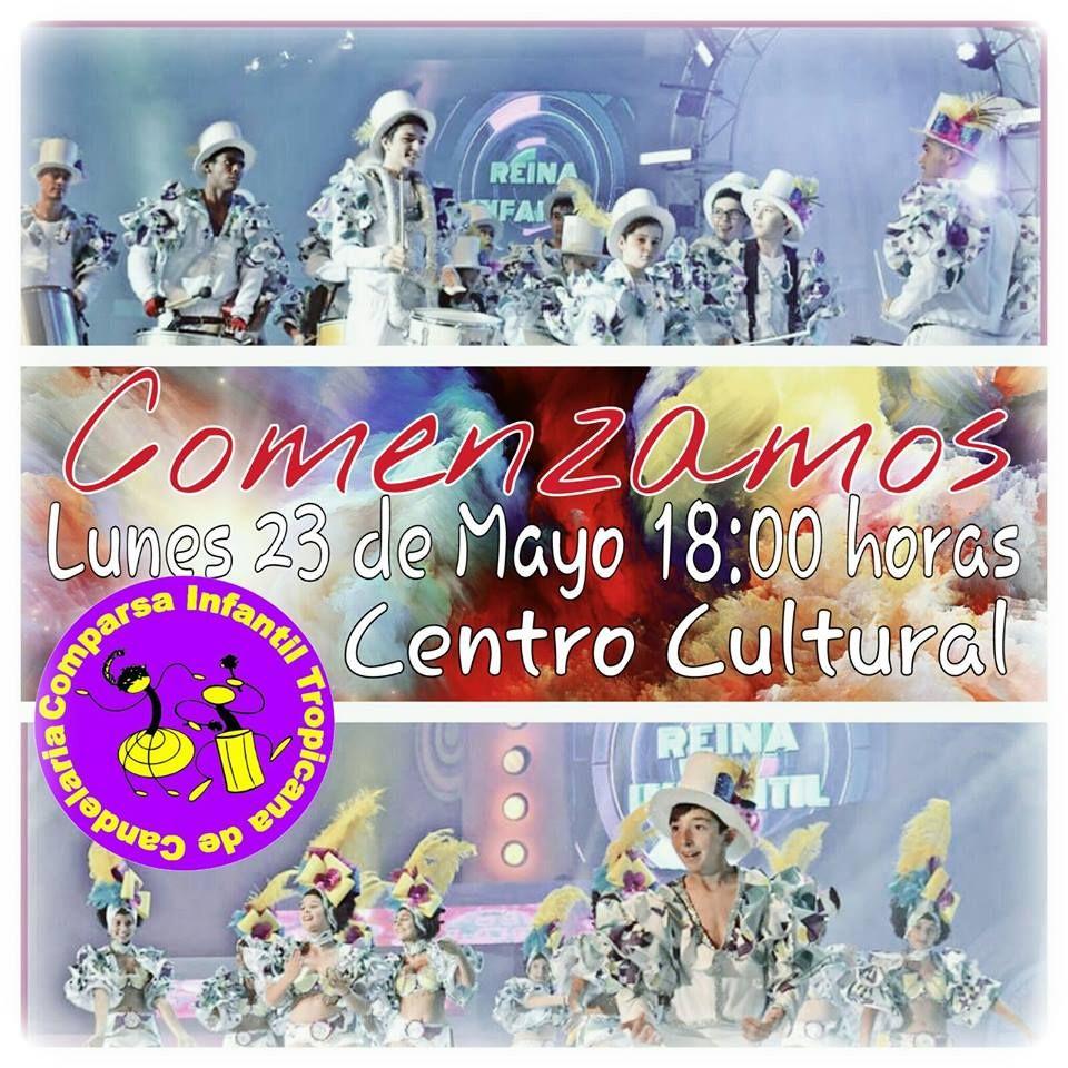 Grupo Mascarada Carnaval: Tropicana infantil comienza sus ensayos