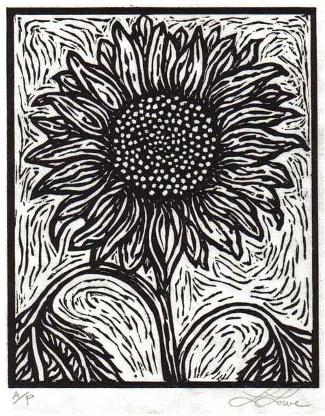 Linoleum Print Designs Best 25+ Linoleum bloc...