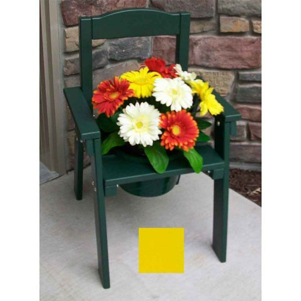 "Pot-ting Chair (Buttercup Yellow) (26""H x 18""W x 19""D)"