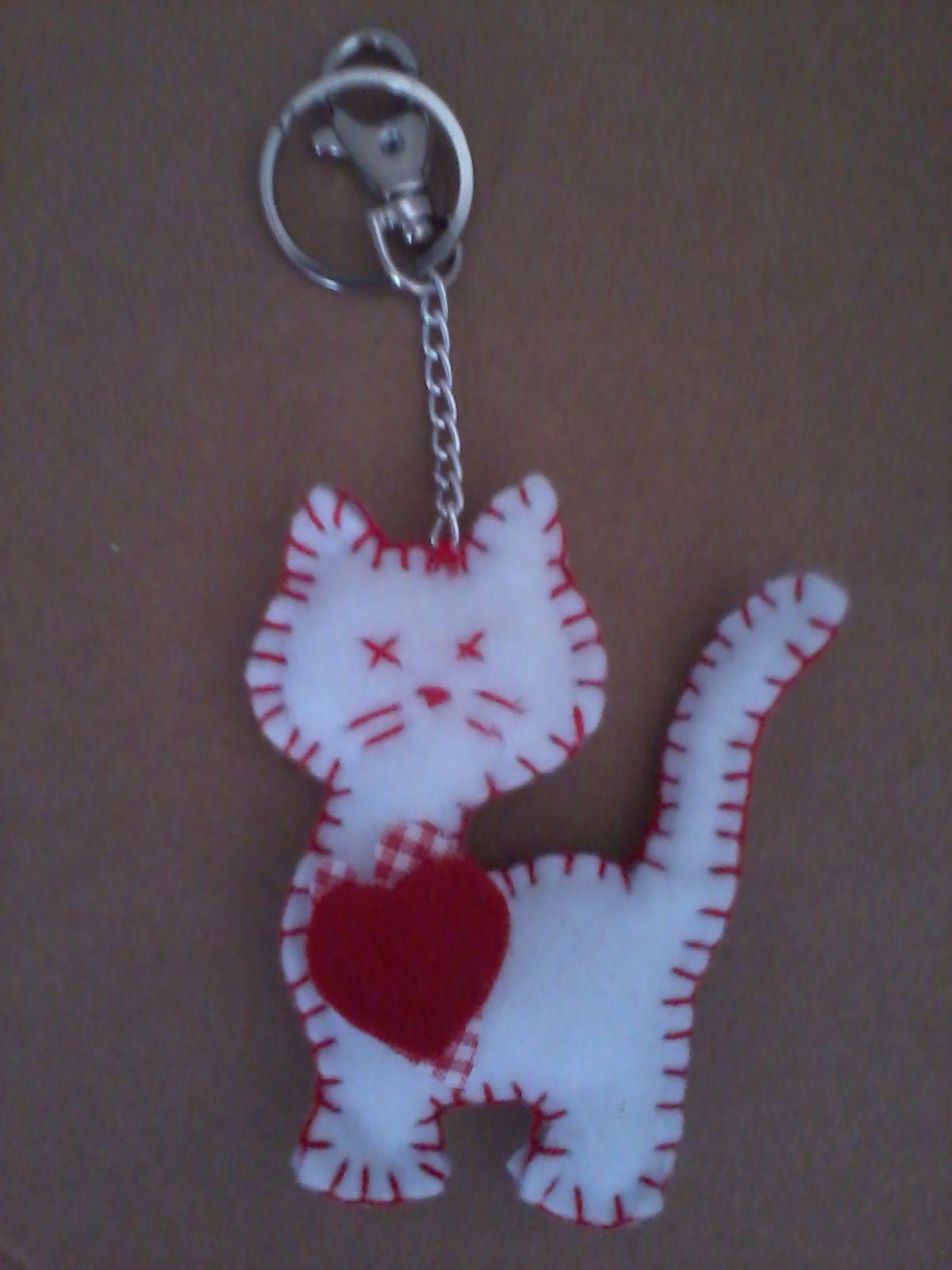 Llavero gatito para regalar...  7c914bde916