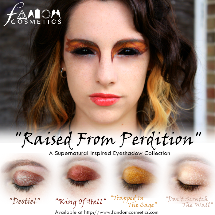 Raised From Perdition A Supernatural Inspired Eyeshadow Set Eyeshadow Set Eyeshadow Collection Glam Hair
