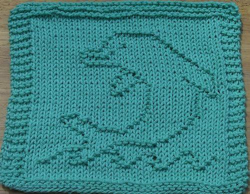 Dolphin Dishcloth pattern by Lisa Millan   Dishcloth ...