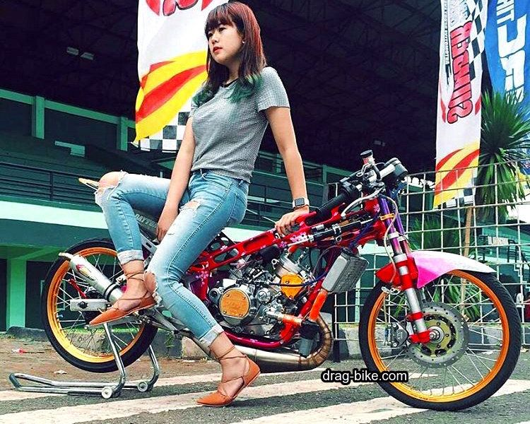Motor Drag Bike Balap Motor Drag Ninja
