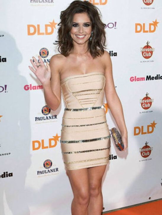 British singer, Cheryl Cole, rocking a sexy bandage dress after being voted the sexiest woman of the year. Shop the bandage dress collection now at misscircle.com #cherylcole #bandagedress #celebritydress #misscircle #sexydress #partydress #bodycondress #clubwear #dress #fashion