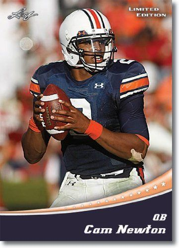 2011 Leaf Limited Football Card 4 B Cam Newton Rc Dropping Back
