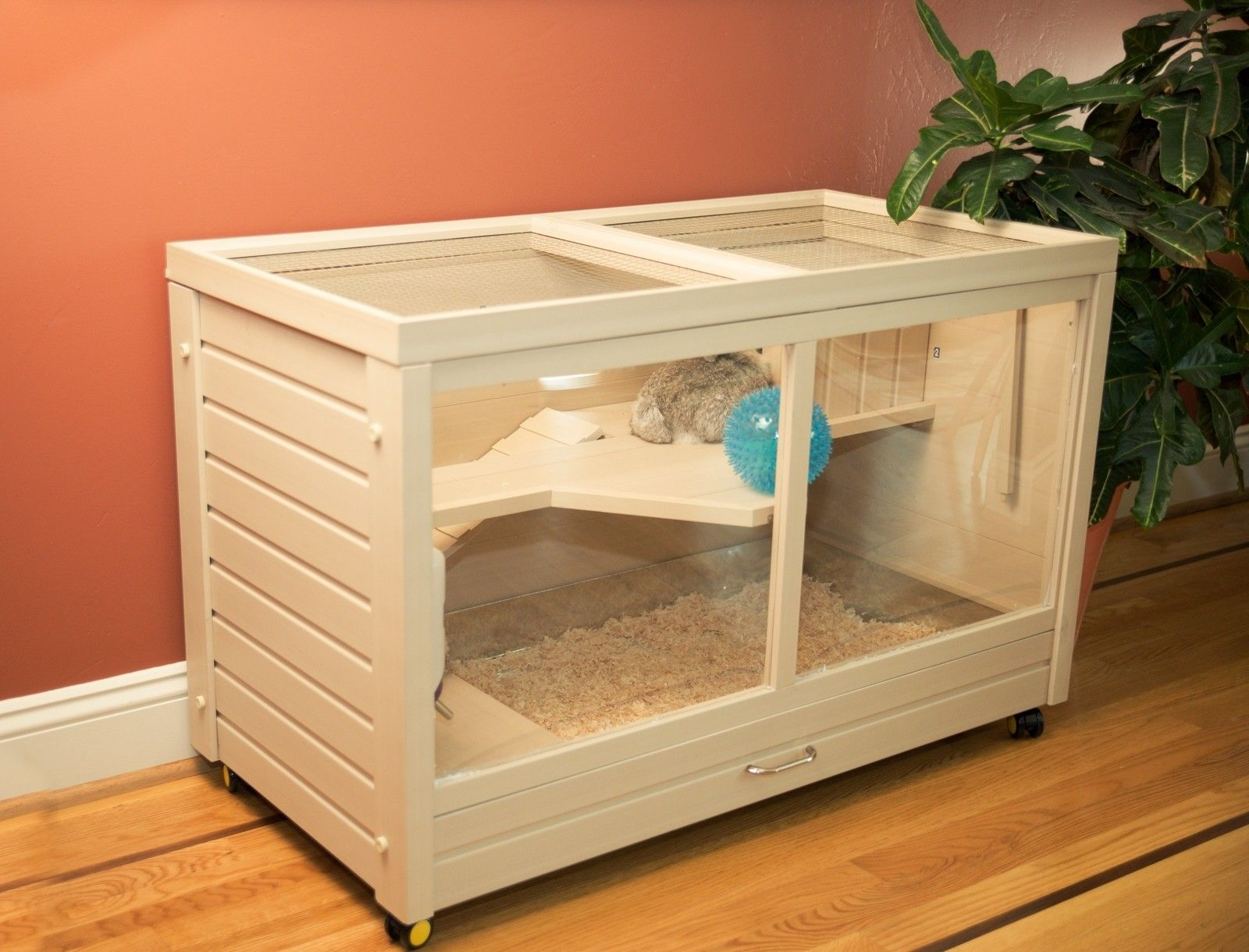 Park Avenue Indoor Small Animal Rabbit Hutch Parks, The