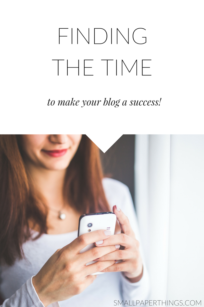 Want to make your blog a raging success but don't think you have the time? Read this first.