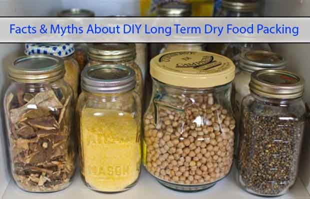 Facts u0026 Myths About DIY Long Term Dry Food Packing //.livinggreenandfrugally.com/facts-myths-about-diy-long-term-dry- food-packing/ & Facts u0026 Myths About DIY Long Term Dry Food Packing http://www ...