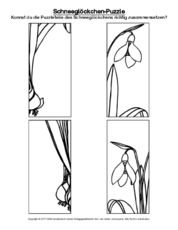 schneegl ckchen pr rodoveda fr hling im kindergarten grundschulmaterial und fr hling. Black Bedroom Furniture Sets. Home Design Ideas