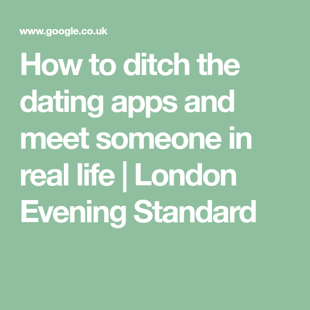 Meet someone in london