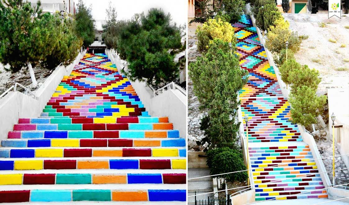 Dairatieh, Peace stair, Syria - The most beautiful steps and stairs around the world