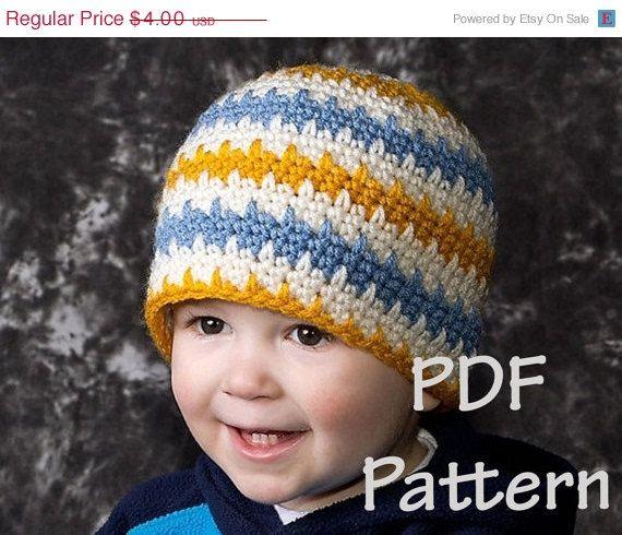 Easy crochet beanie pattern   Projects to Try   Pinterest   Crochet ...
