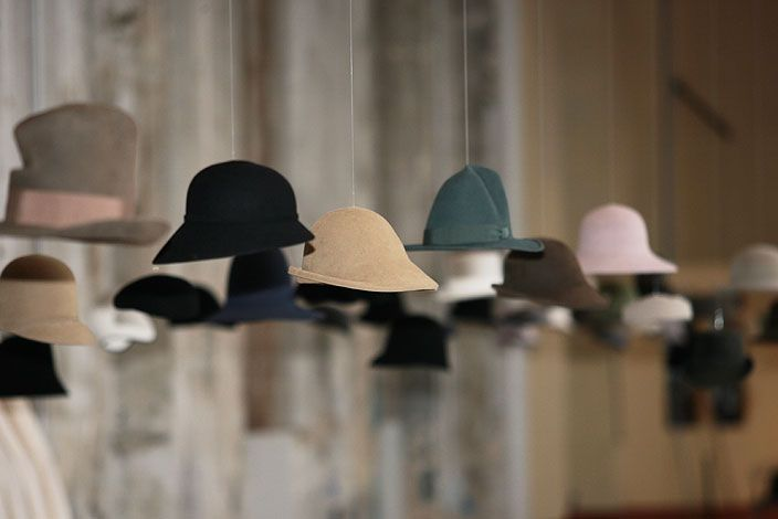 Hat Rack Ideas. The ideal hat rack should be decorative as well as  functional and