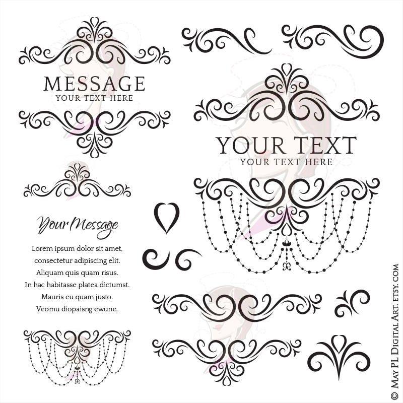 Elegant Flourish Design with Chandelier Frames perfect