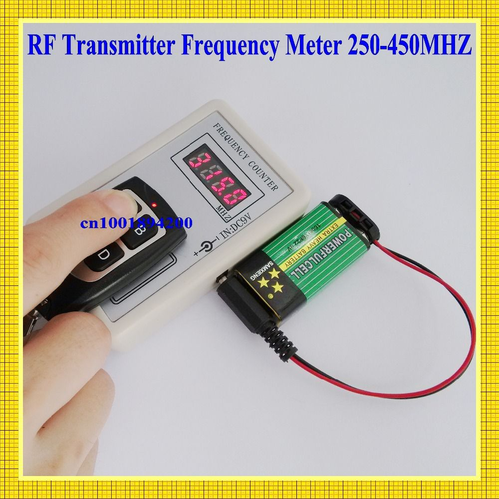 Frequency Meters Radio Remote Control Transmitter Meter Circuits Counter Indicator Cymometer 10cm 250 450mhz 05