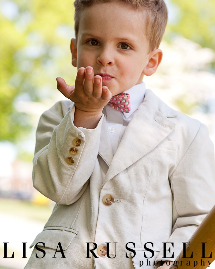 Classic Little Boy Style Blowing Kiss Bow Tie Prep Ky Derby