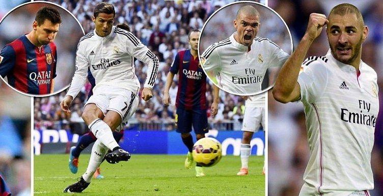 Real Madrid 3 1 Barcelona Sawiradii Karbaashka Ronaldo Iyo Riiqdii Messi Ee El Clasico Real Madrid Madrid Sporting Live