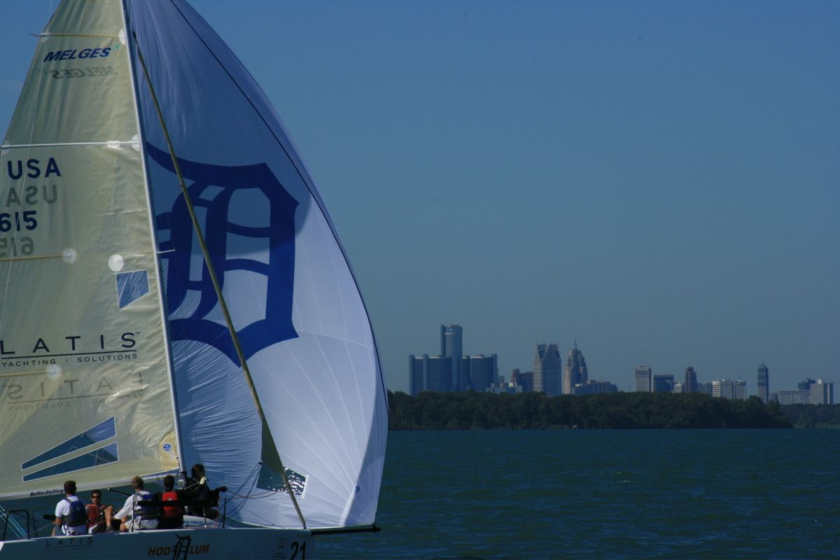 Did you know lake st clair hosts the us national