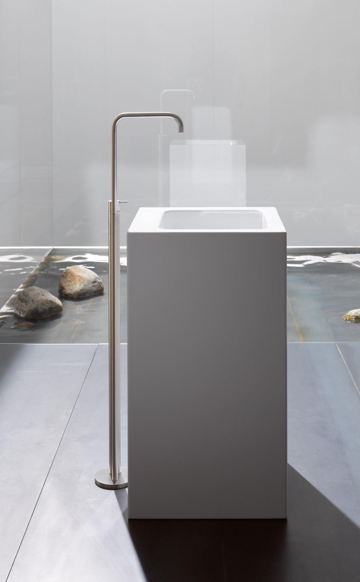 Wastafelzuil badkamer Betteone Monolith #wastafel #badkamer ...