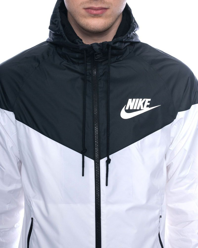 a615a65b NIKE WINDRUNNER JACKET White Men/Women Windbreaker Hoodie 544120- US SELLER  in Clothing, Shoes & Accessories, Men's Clothing, Coats & Jackets | eBay