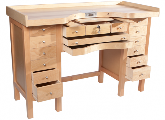 Improving The Jewelers Bench 105 Jewelers Bench Comments Pictured Mastercraft Workbench