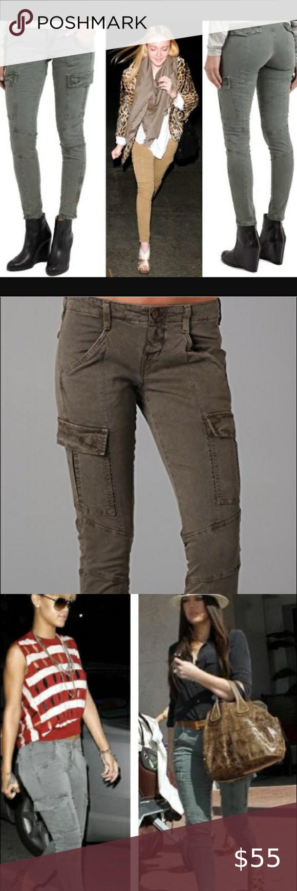 J Brand Houlihan Cargo Skinny In Olive Green In 2020 J Brand J Brand Jeans Cargo Pants