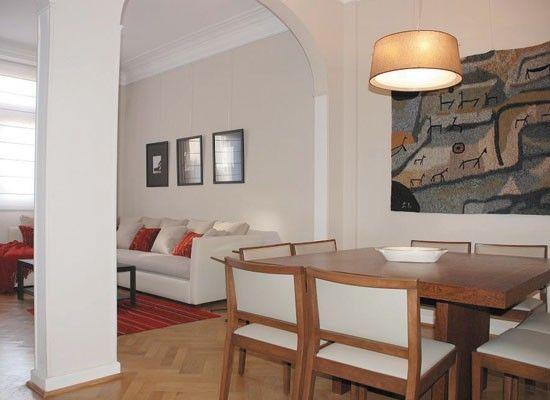 Sillas tapizadas en living comedor hogar y muebles for Muebles living comedor