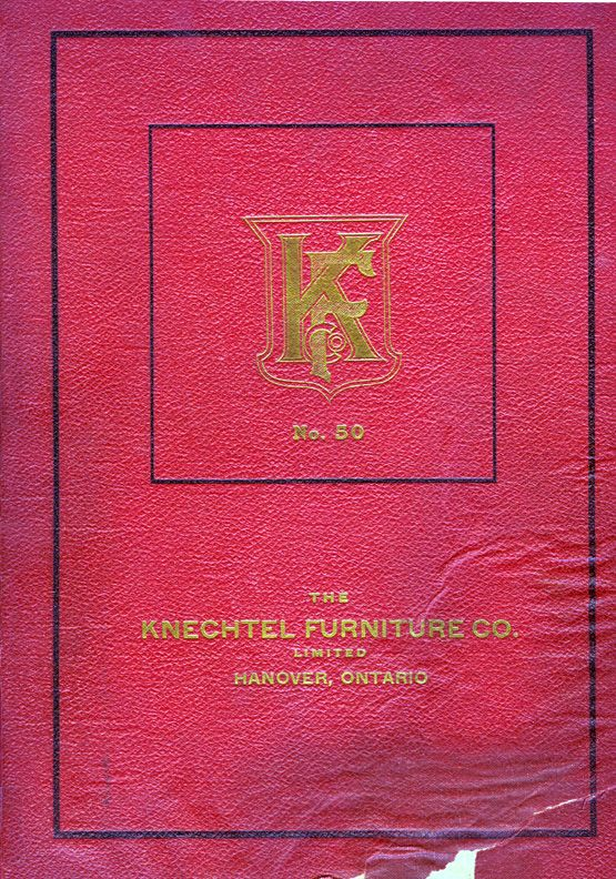 1919 Reproduced Knechtel Furniture Catalogue