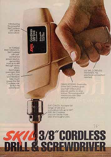 1976 was the year #SKIL introduced the FIRST Self-Contained