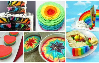 Diy Rainbow Cake Recipes Cake Design Picture Insructions Frozen