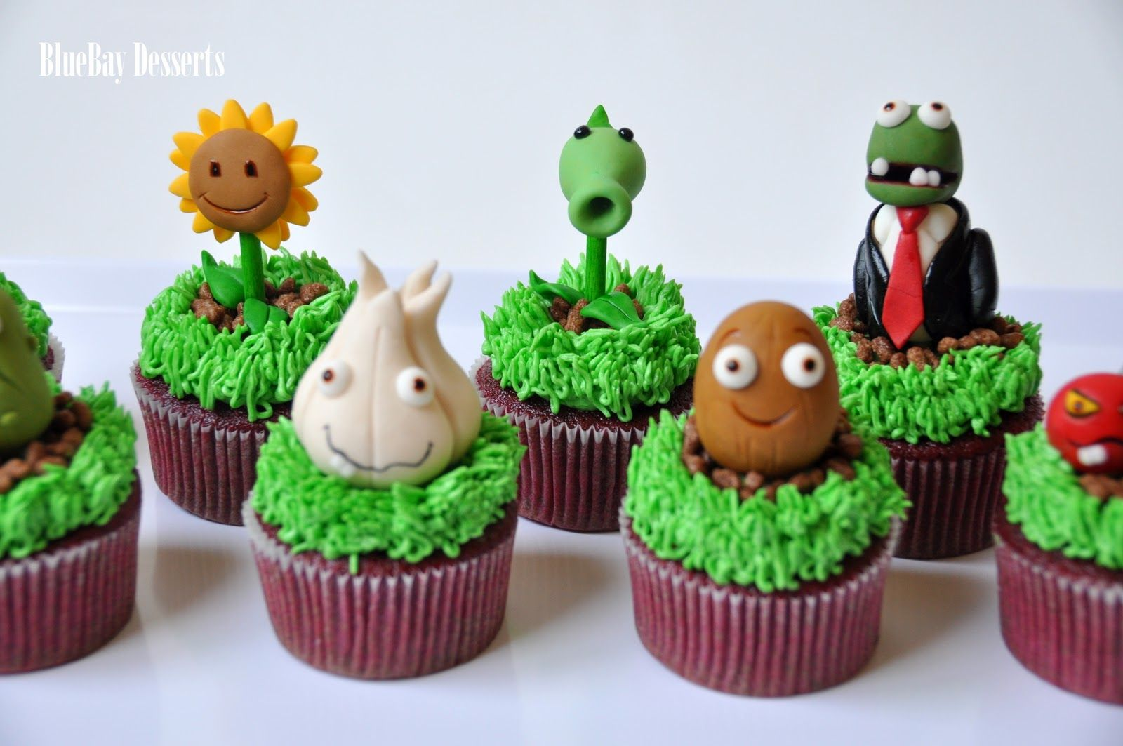 Image result for plants vs zombie cakes