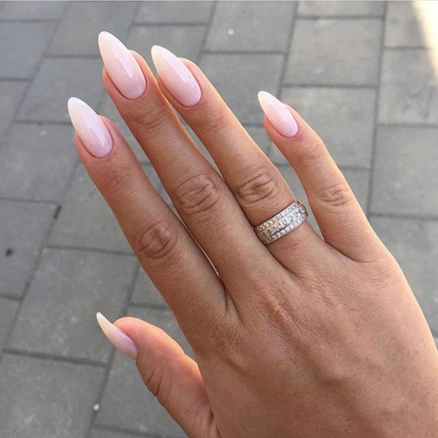 Most Seeking Ombre Nail Paints Of 2018 Find The Best With Images Ombre Acrylic Nails Diy Nails Manicure Almond Acrylic Nails