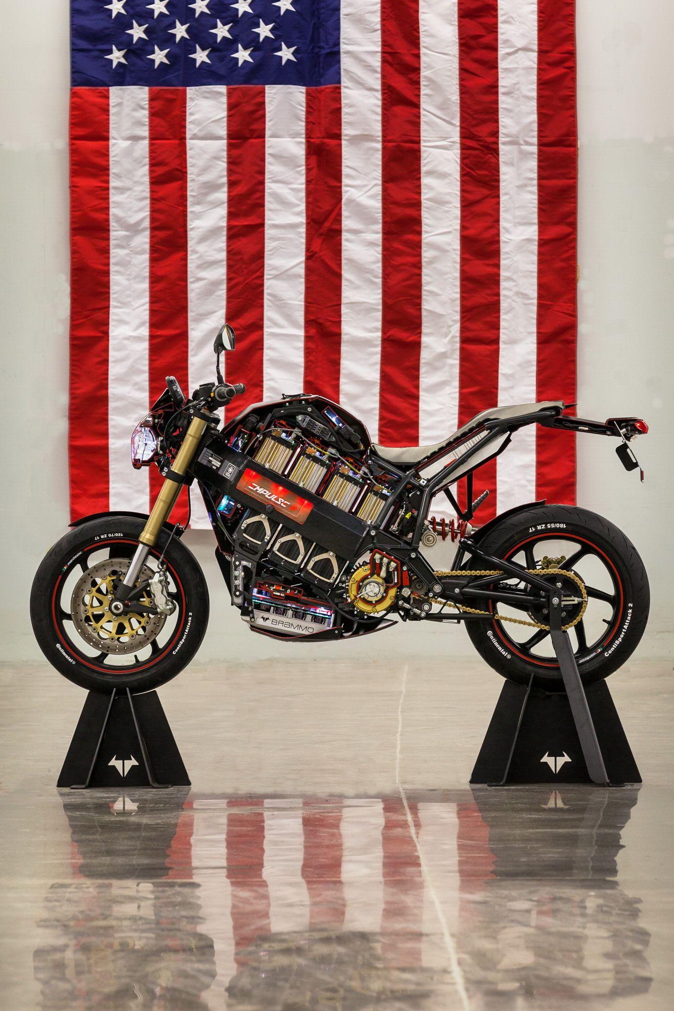 Brammo Empulse R cutaway Electric motorcycle, Vehicles