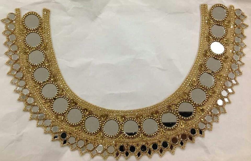Mirror work | Indian designer saree blouses | Pinterest | Bordado ...