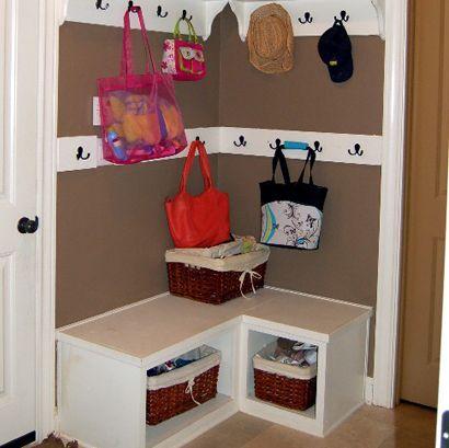 Small bedroom storage ideas diy - 25 Best Corner Storage Ideas On Pinterest White Corner