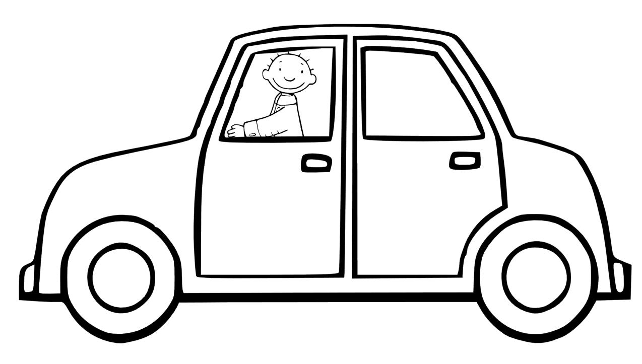 jules in de auto knutselen thema verkeer thema vervoer