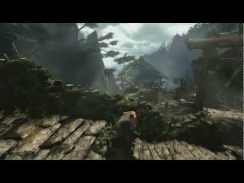 tomb raider 2013 video game trailer