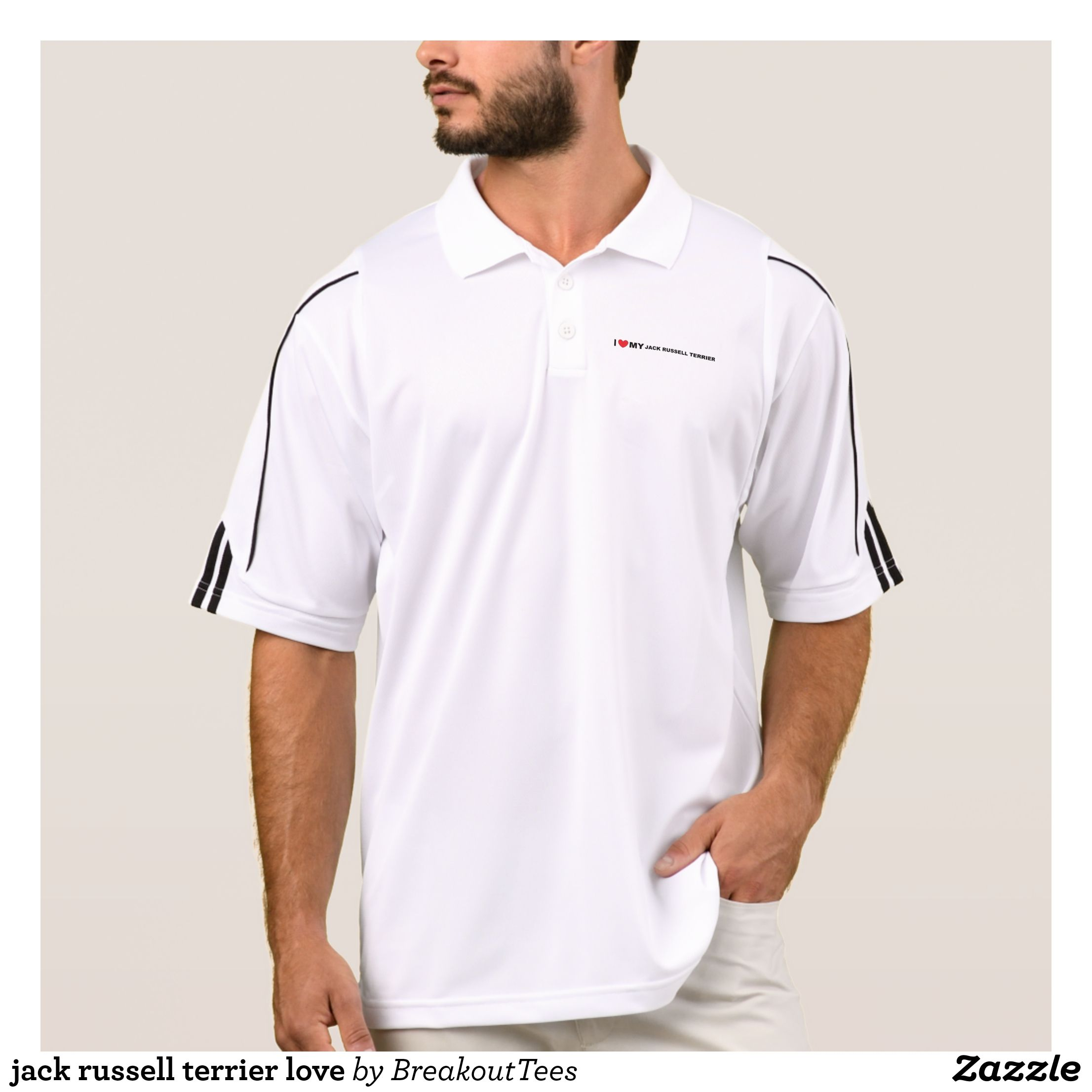 54f866c9 Jack Russell Polo Shirts