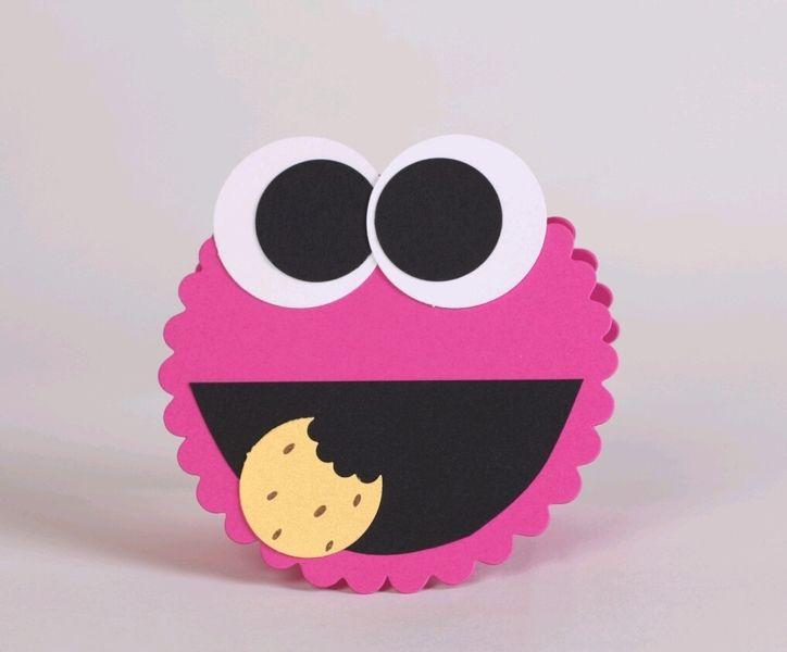einladung kindergeburtstag krÜmeliges-monster | einladung, Kreative einladungen