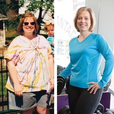 LORI KIMBLE  Age: 41  Pounds Lost: 105  Weight-Loss Tip: I cook a pot of brown rice on Sundays. During the week, I know I can just mix it with veggies and chicken for a quick meal.