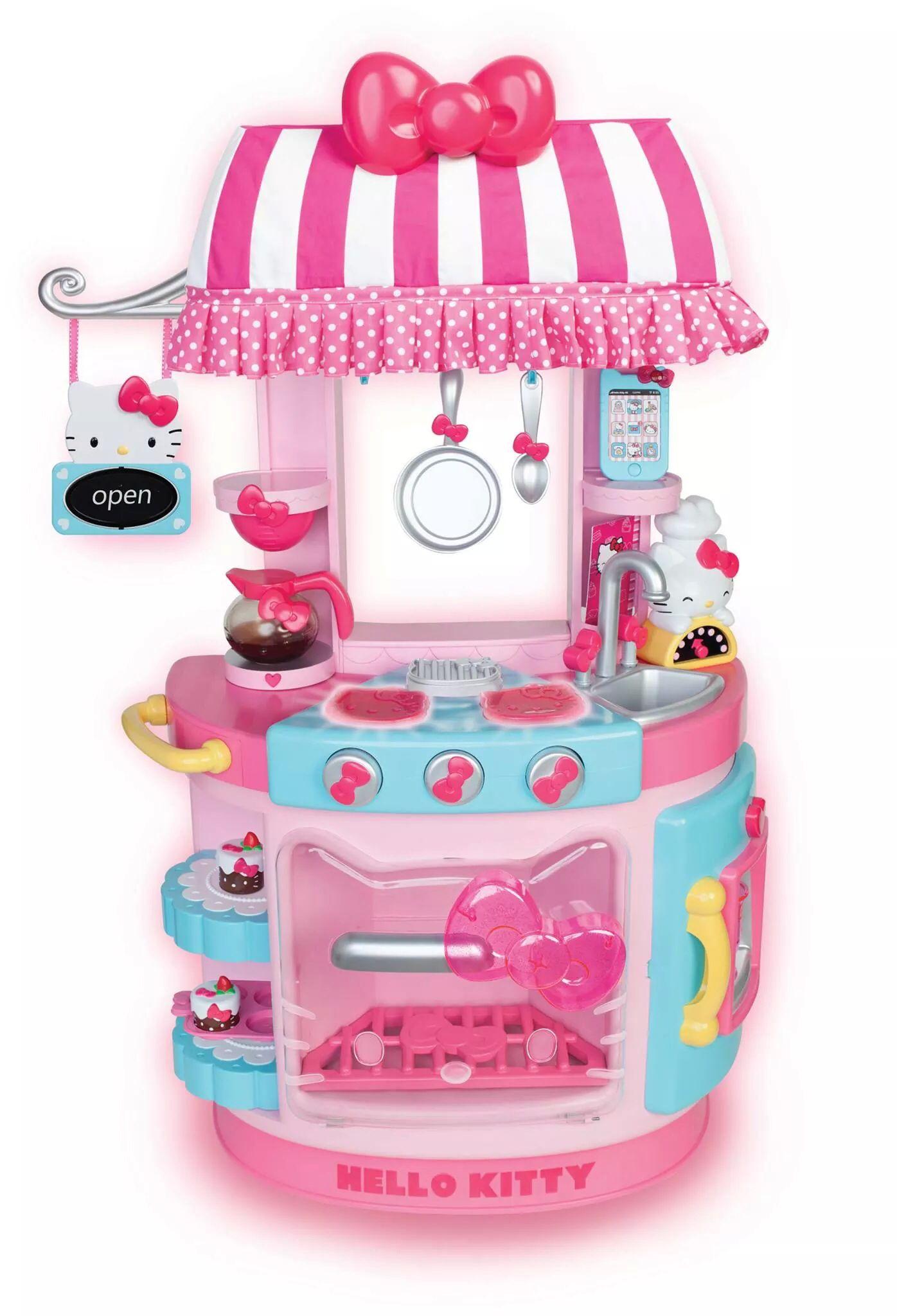 Hello kitty car toys r us  Hello Kitty play kitchen at ToyRis Walmart  Hello Kitty