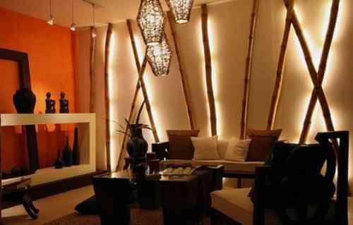 Bambou déco pour le salon - quelques idées originales | Bamboo ...