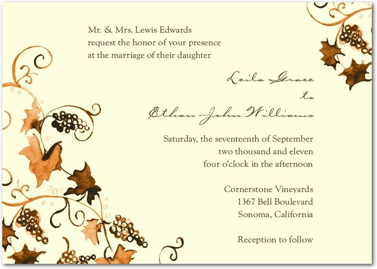 Wedding Divas Invitations Template: Wedding Stationery Wednesday: Winery Wedding Invitations