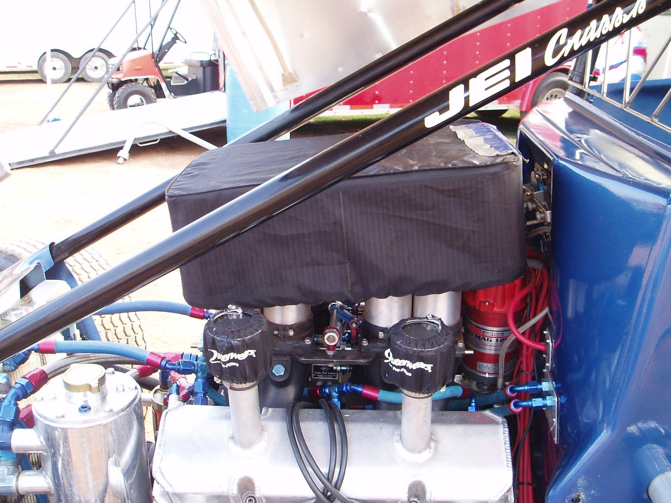 Outerwears on a 410 sprint car.