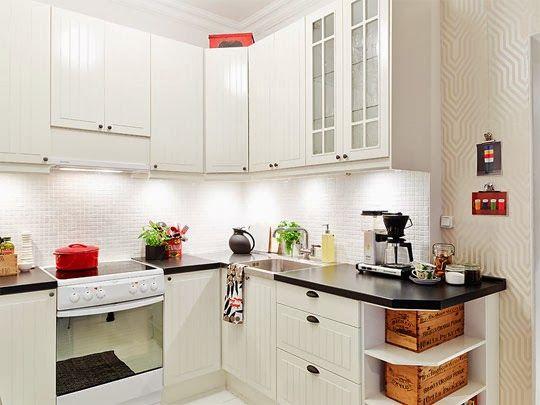 Decoraci n de cocinas para apartamentos peque os dise o for Diseno y decoracion de cocinas